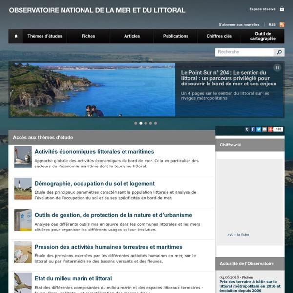 Observatoire national de la mer et du littoral [ressource]