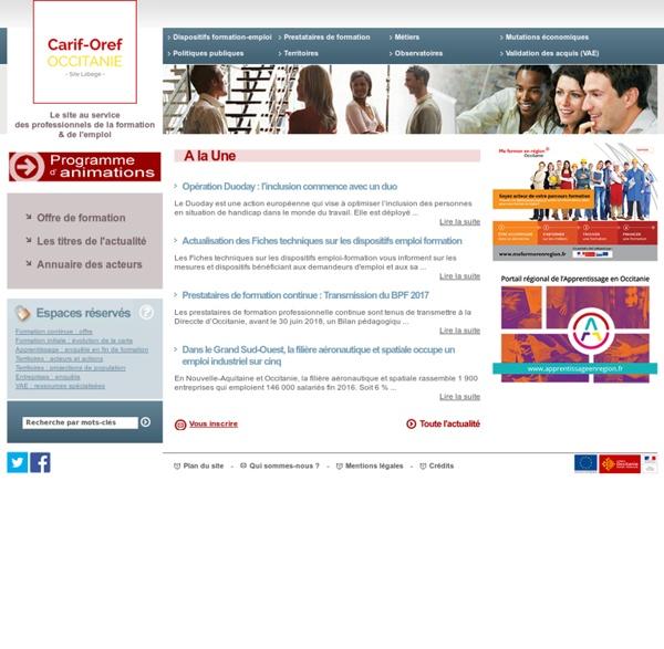 Carif-Oref Toulouse