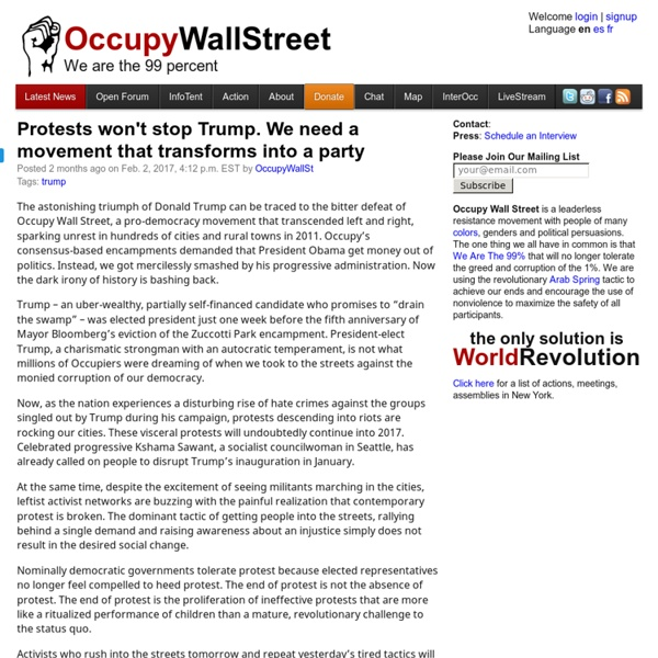 NYC Protest for World Revolution