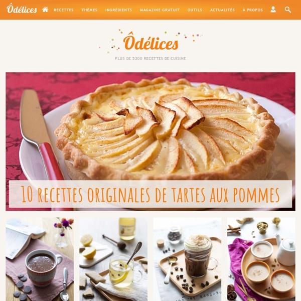 Ôdélices - Recettes de cuisine faciles et gourmandes !