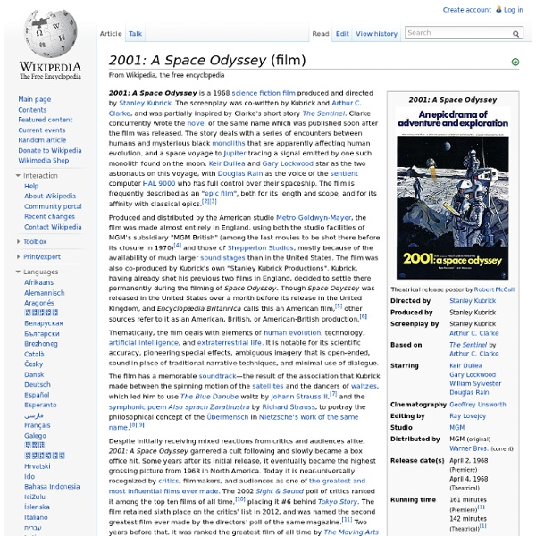 2001: A Space Odyssey (film)