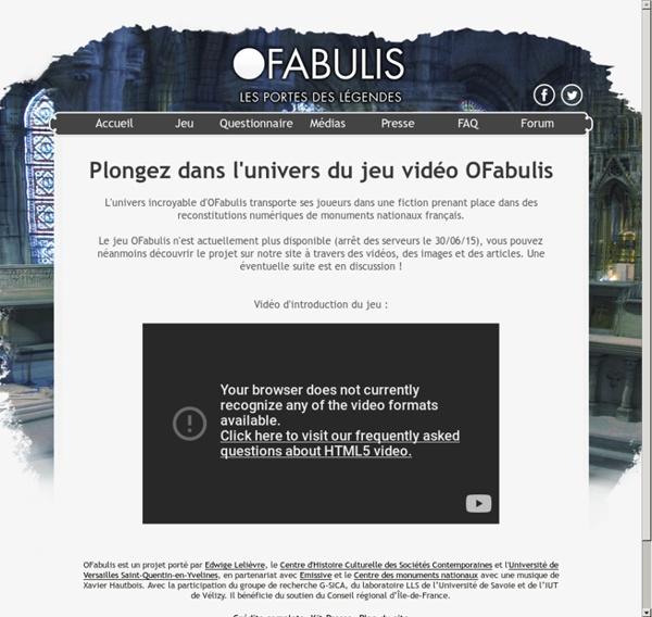 OFabulis - Accueil