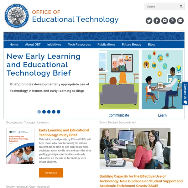 HOME - Office of Educational Technology