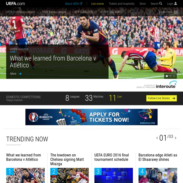 The official website for European football – UEFA.com