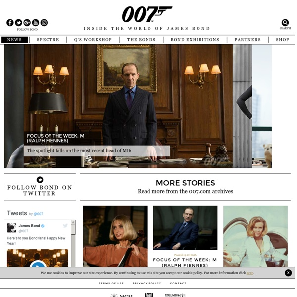 The Official James Bond 007 Website