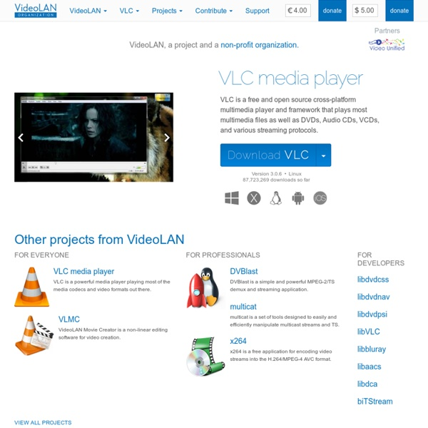 VLC: Official site - Free multimedia solutions for all OS!