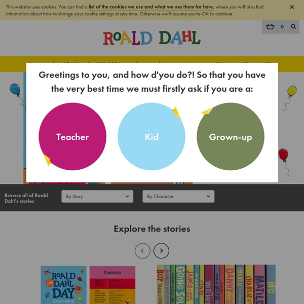 Roald Dahl - The Official Web Site
