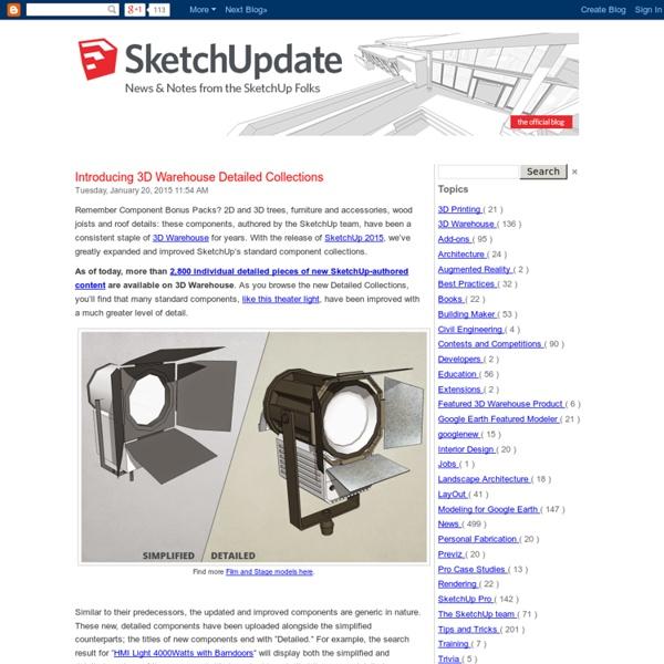 Official Google SketchUp Blog