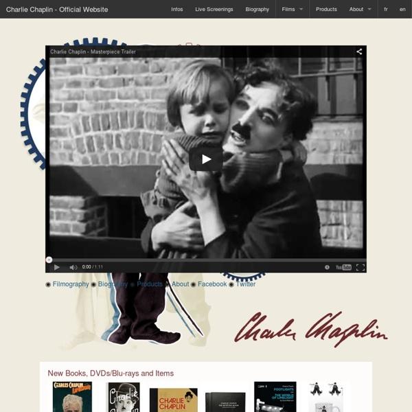 Charlie Chaplin : Official Website