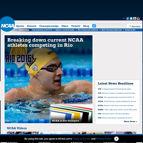 NCAA.com – The Official Website of NCAA Championships