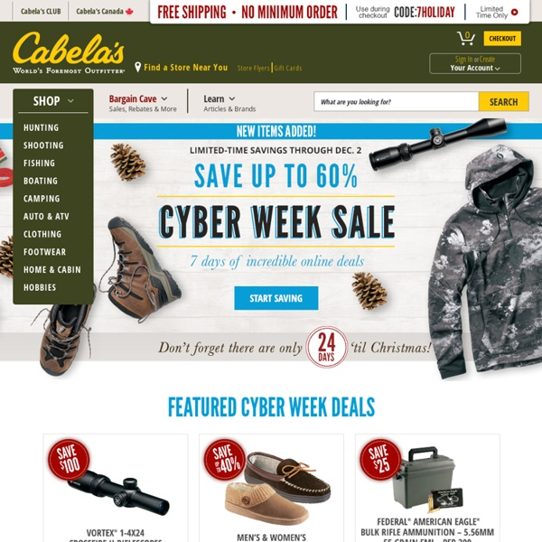 Cabelas Official Website - Hunting, Fishing, Camping, Shooting & Outdoor Gear: Cabelas This is a free and comprehensive report about spanarpatri.ml is hosted in on a .