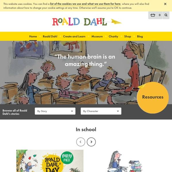 The Official Roald Dahl Website - Educators