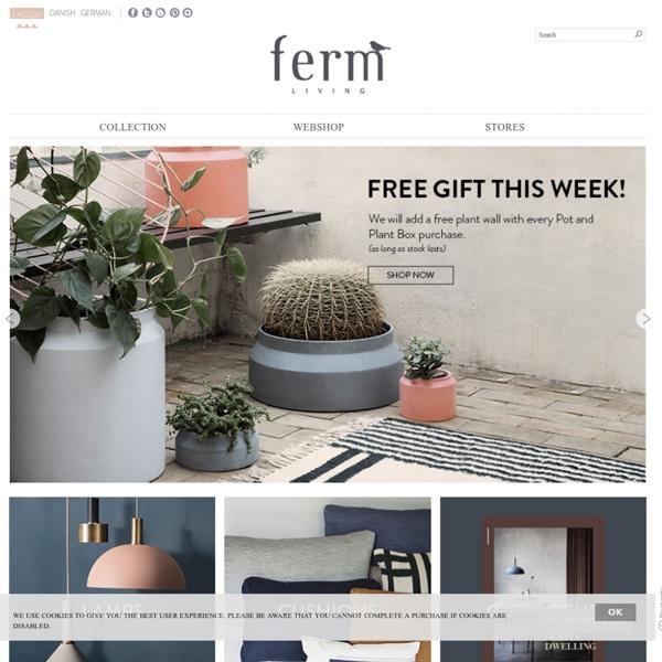 The official ferm LIVING Website & Online Shop