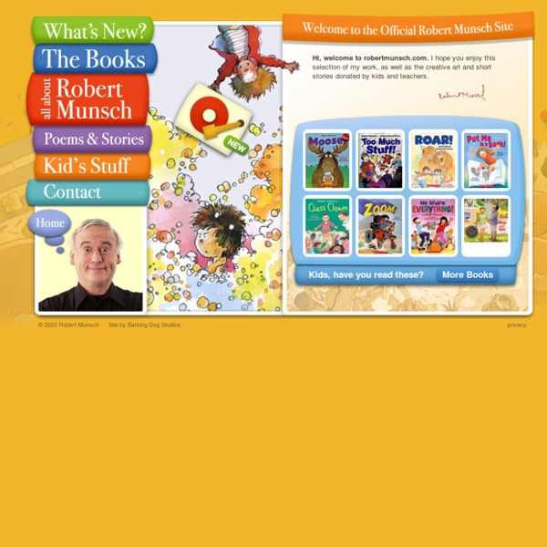 The Official Website of Robert Munsch