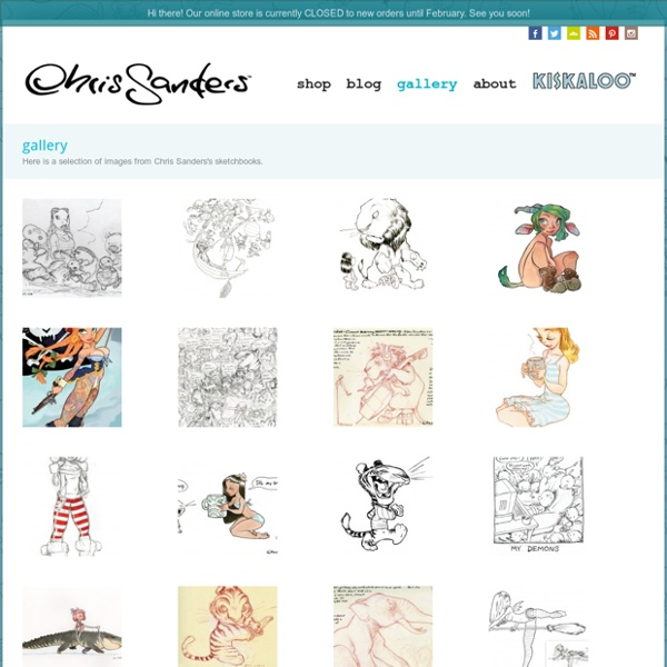 The Official Website of Chris Sanders » gallery