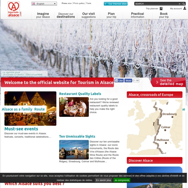 Visit Alsace - Official website of Tourism in East of France