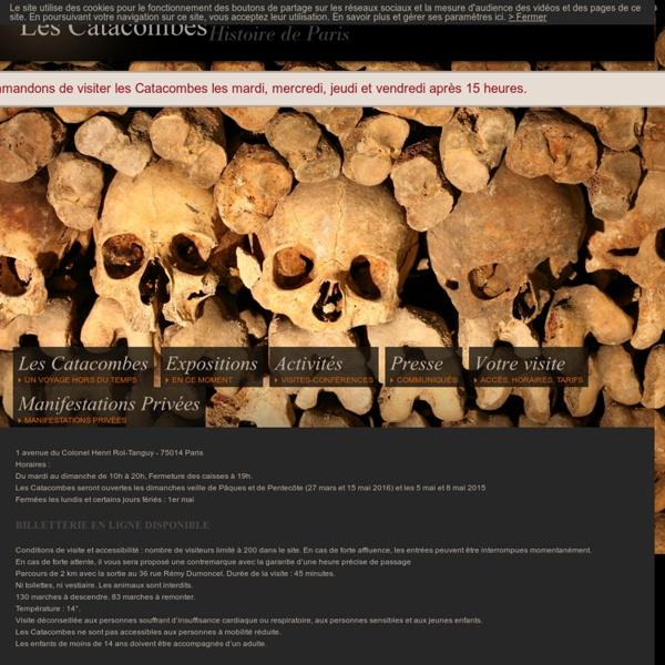 Catacombes de Paris - Musée Carnavalet - Histoire de la ville de Paris