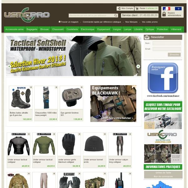 USMCPRO : Site Officiel USMC - Matériel Militaire, Police & Outdoor