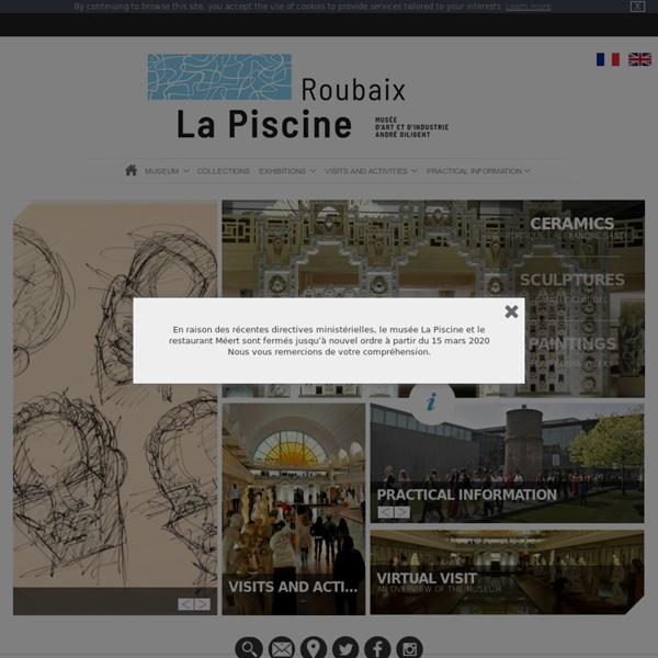 Site officiel Du musée de la piscine de Roubaix
