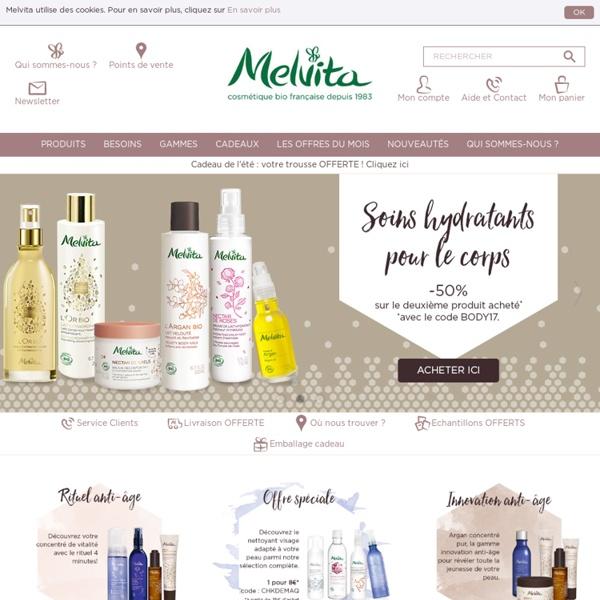Melvita, Cosmétique bio française depuis 1983