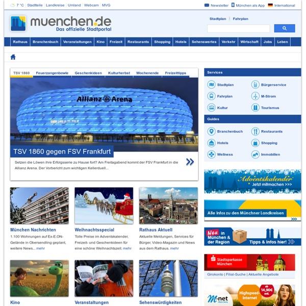 Muenchen.de - Offizielles Stadtportal für München