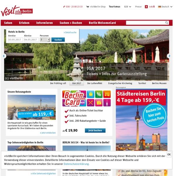 Berlin - offizielles Tourismusportal - visitBerlin.de