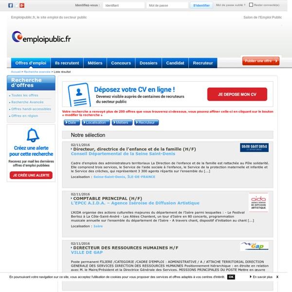Offre emploi biblioth ques centres documentaires page 1 - Grille indiciaire gardien de police municipale ...