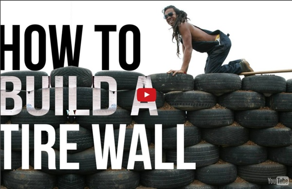 Offthegridbuild - Building a Tire Wall