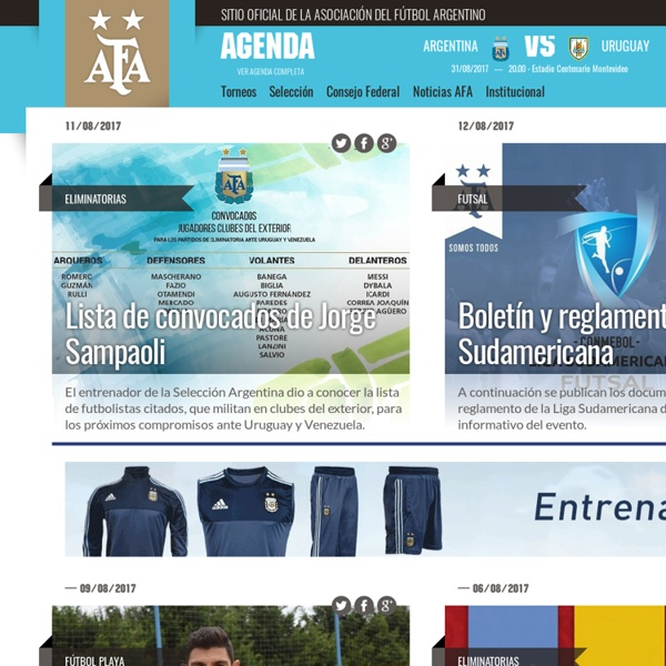 Official site of the Argentine Soccer Association