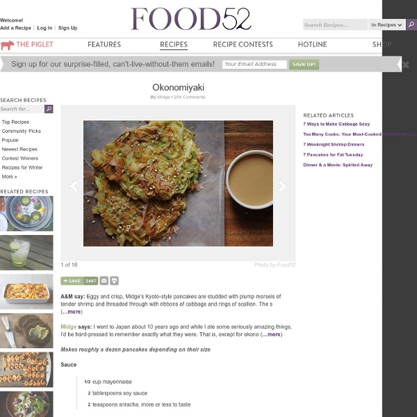 Okonomiyaki recipe on Food52.com