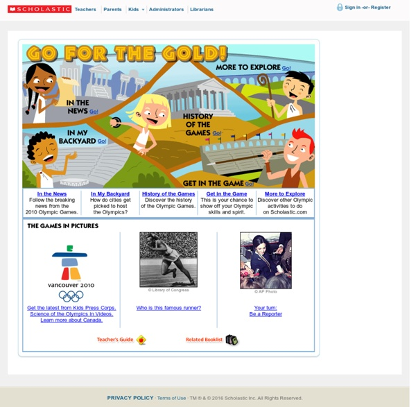 The Olympic Games Student Activity