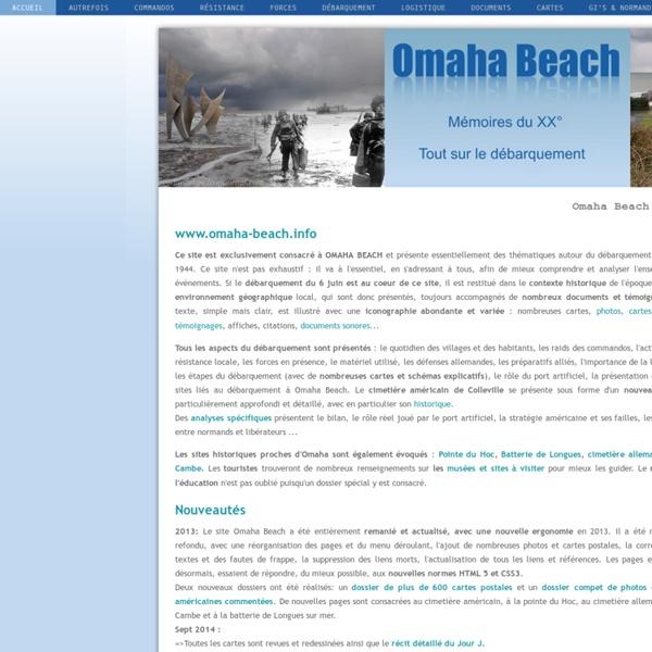 Omaha Beach Mémoires