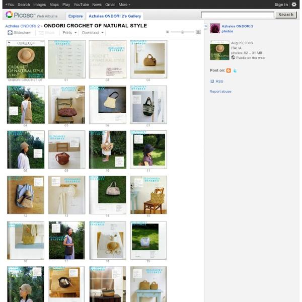 ONDORI CROCHET OF NATURAL STYLE - Azhalea ONDORI 2 - Picasa Albums Web