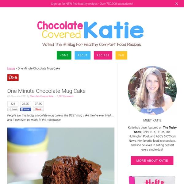 One Minute Chocolate Mug Cake
