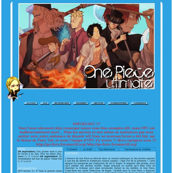One piece ultimate