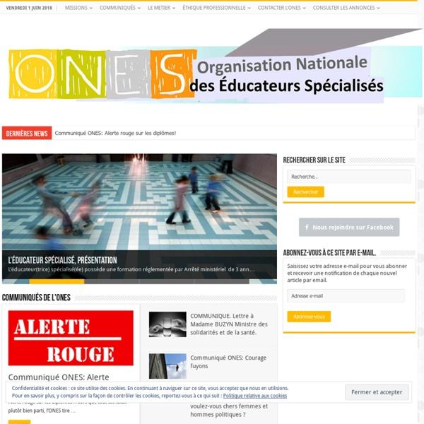 Organisation Nationale des Educateurs Spécialisés (ONES)