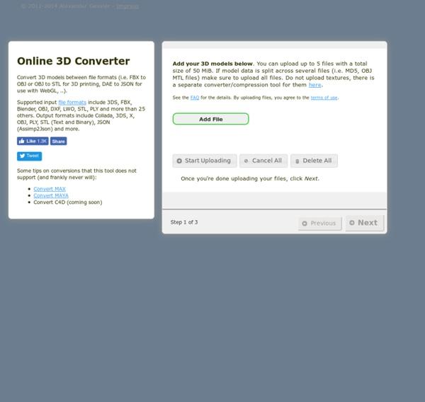 Online 3D Converter