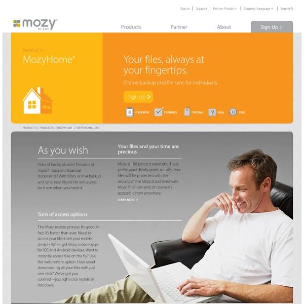 Mozy.com - 2 GB Free Storage
