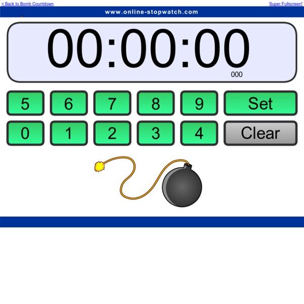 Online Bomb Countdown