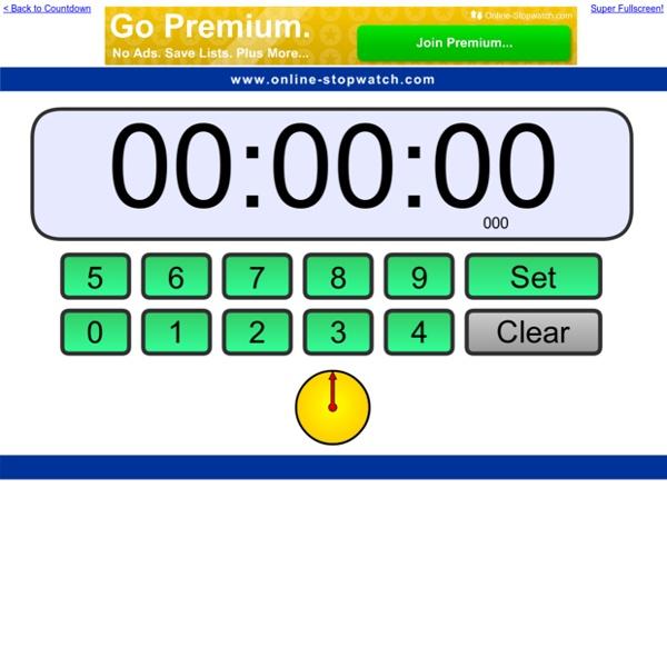 Online Clock Countdown