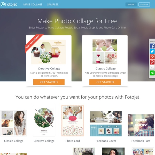 Photo Card Editor and Poster Creator - FotoJet