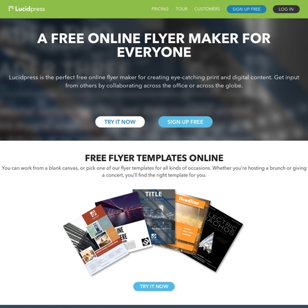 free flyer maker online pearltrees