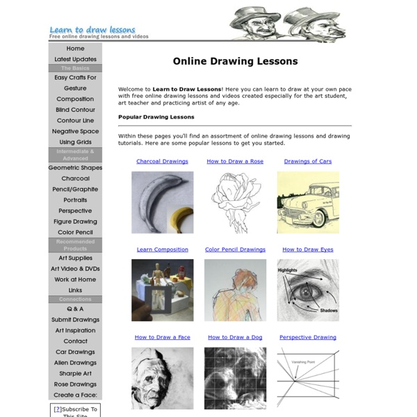 Online Drawing Lessons - Learn to Draw Online for Free