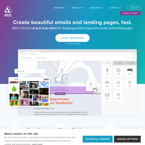 Free online email editor to build responsive layout emails
