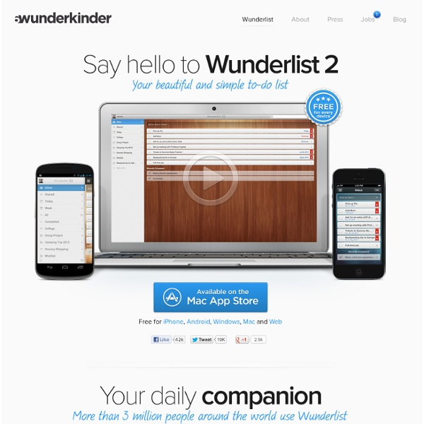 Task Management with Wunderlist