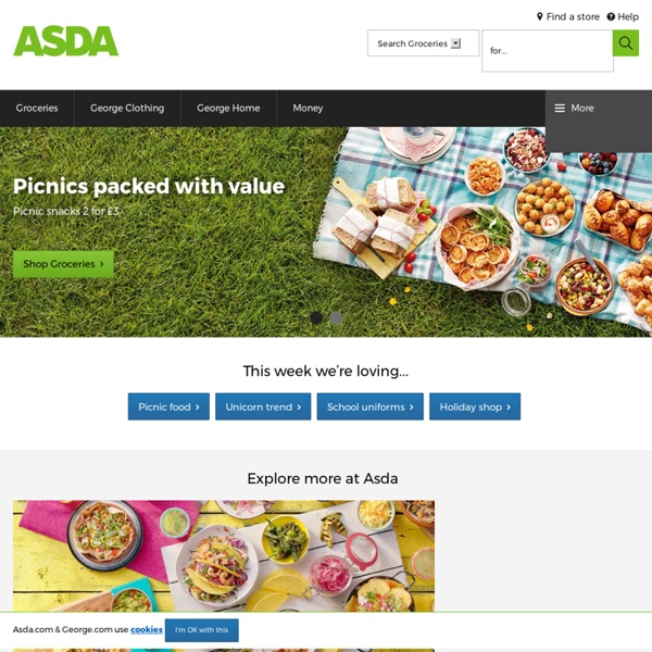 Asda online shopping