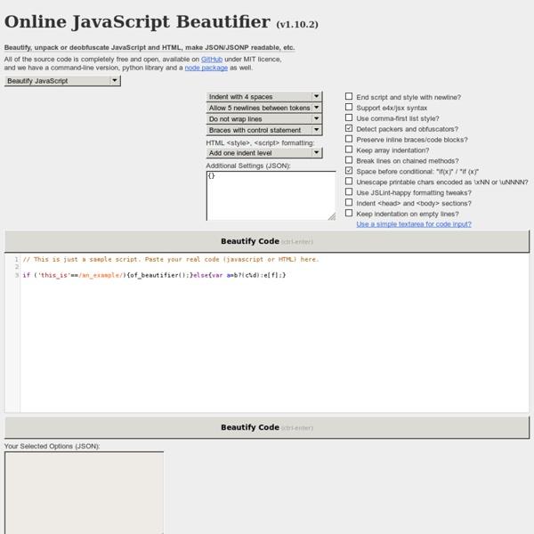 Html5 beautifier online online roulette canada mac