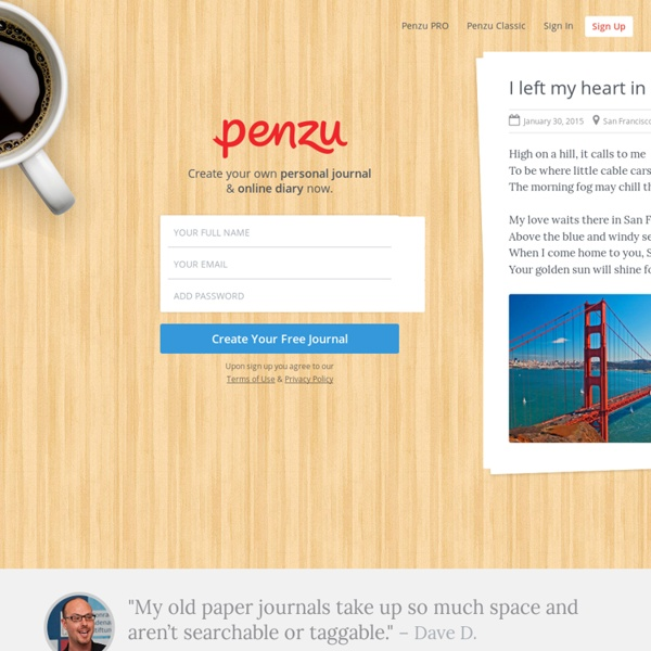 Free Online Diary and Personal Journal