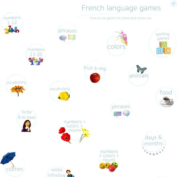 French language learning games