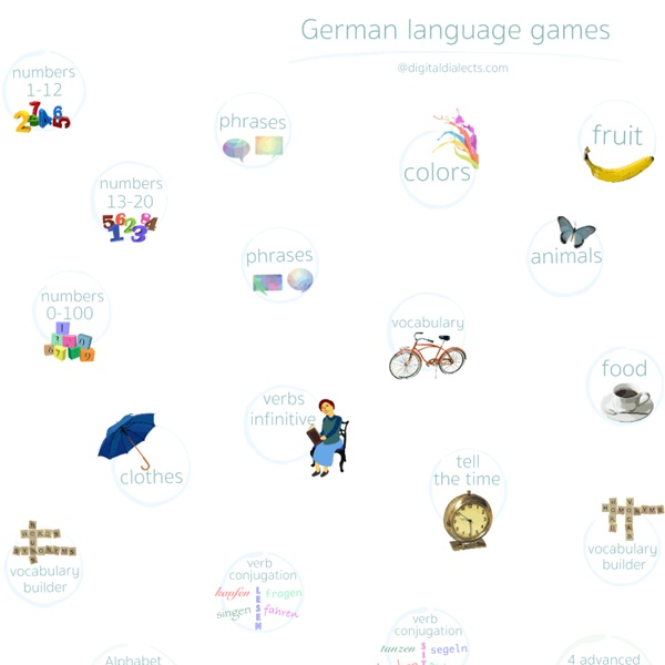 German language learning games